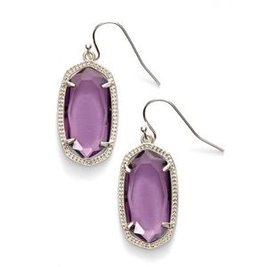 Kendra Scott 'Dani' Drop Earrings - Purple
